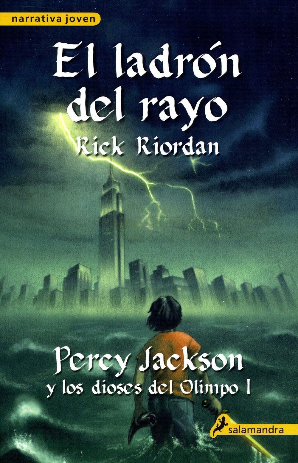 Resultado de imagen de percy jackson y el ladrón del rayo