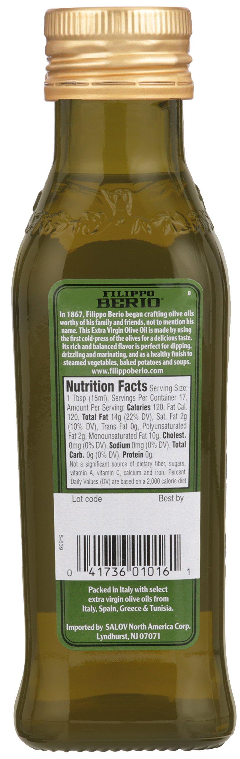 Filippo Berio Extra Virgin Olive Oil, 8.4 Ounce by Filippo Berio (Image #3)