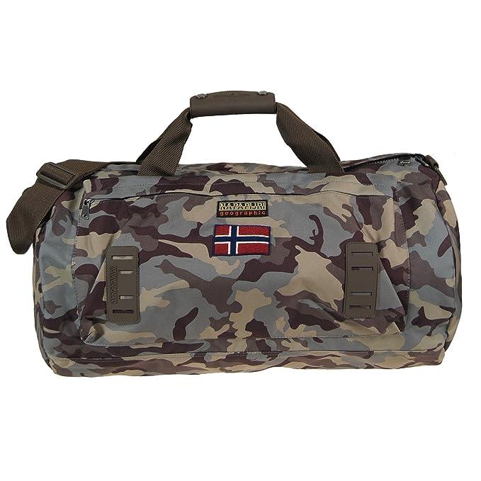 Borsone Napapijri Medium Duffle Camouflage Variante unica  Amazon.it   Abbigliamento 82e0bfe2130