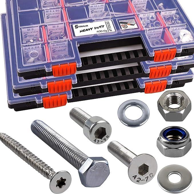 25 Senkkopfschrauben Edelstahl M5 x 70 mm Senkschrauben mit Innensechskant und Vollgewinde ISO 10642 // DIN 7991 VA // V2A Werkstoff A2
