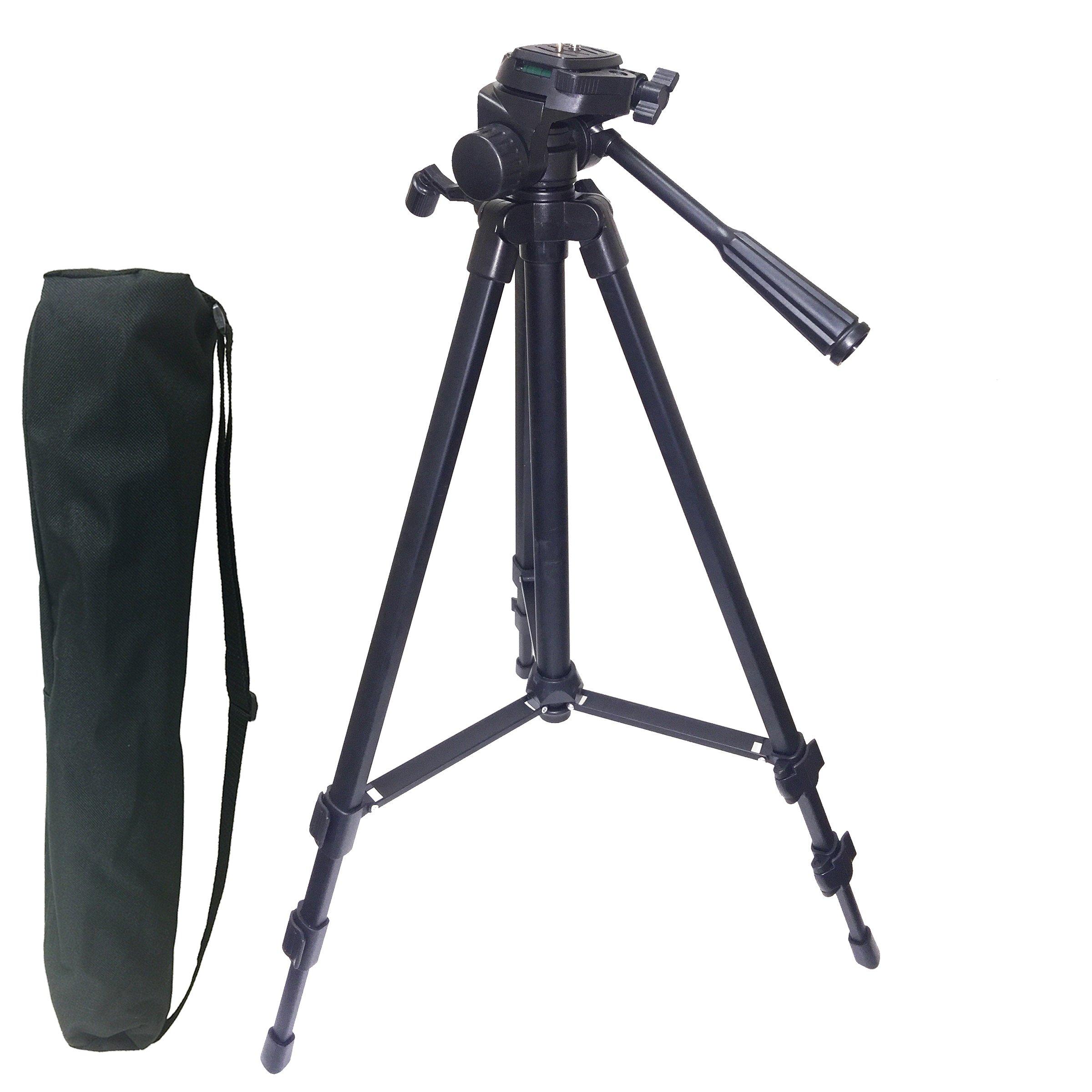 Sima STV-54K 54'' Pro Panorama Tripod, Black
