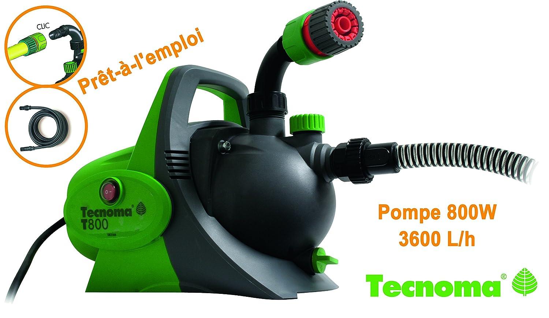 Hozelock Ltd Tecnoma Garden Pumps 800 K7 800 W, 3,600 L/St 4.2 Bar, Max. Ansaugtiefe 7 Metres, Multi-Colour 12655