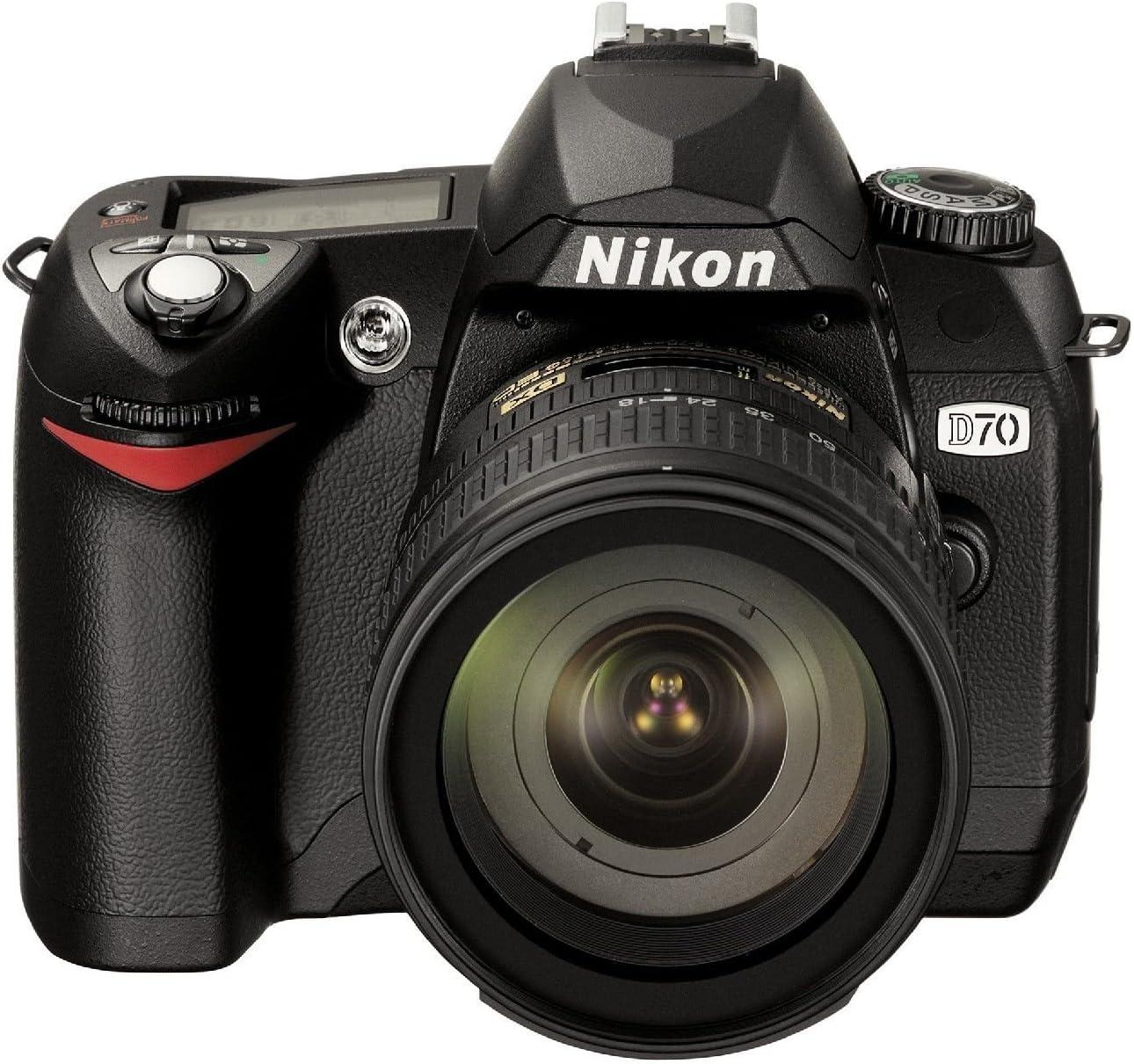 Nikon D 70 Kit Digitale Spiegelreflexkamera Inkl Af Kamera