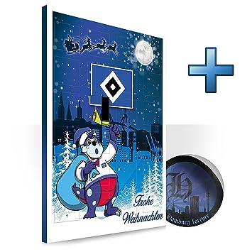 HSV Hamburger Sportverein Kalender Adventskalender Weihnachtskalender