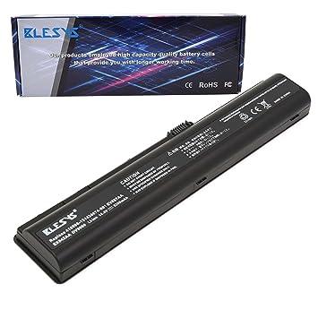 BLESYS 448007-001 434674-001 432974-001 HSTNN-Q21C Batería para portátil Compatible con HP Pavilion DV9000 DV9500 DV9700 DV9600 DV9200 DV9300 DV9400 DV9800: ...