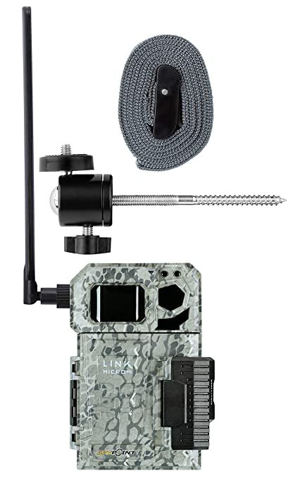 Spypoint Link Micro 4G Cellular Trail Camera with Mount (Verizon)