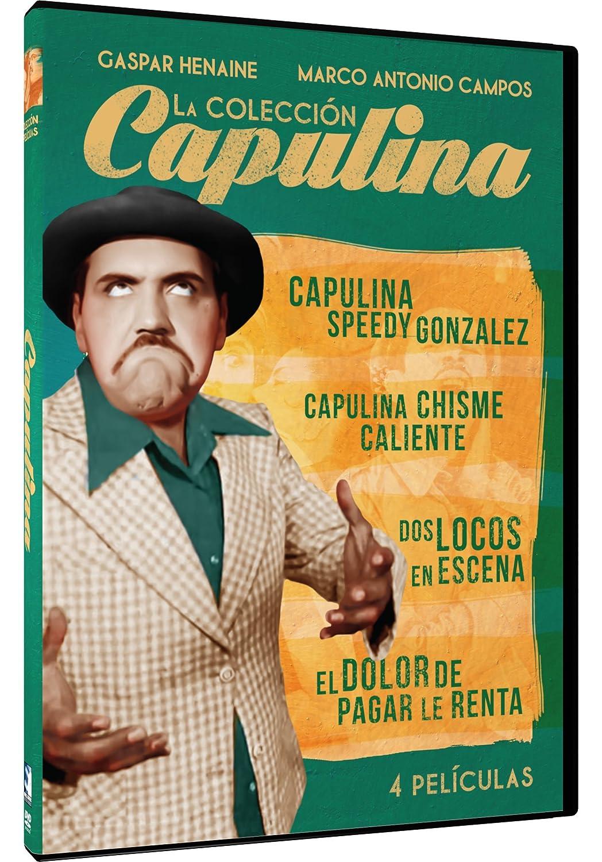 Coleccion Capulina 6  Película 1 Gaspar Henaine Capulina, Marco A ... 91b12b66ee88