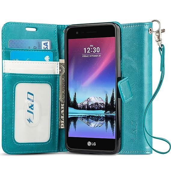 quality design a32db 1b3e7 J&D Case Compatible for LG K10 2017 / LG K20 V/LG K20 Plus/LG V5 / LG Grace  L59BL Case, [Wallet Stand] [Slim Fit] Heavy Duty Shock Resistant Flip ...