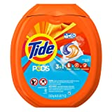 Amazon Price History for:Tide PODS Ocean Mist HE Turbo Laundry Detergent Pacs 81-load Tub
