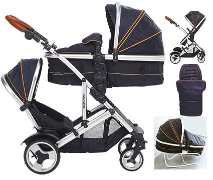 Kargo Duel DS - Saco de abrigo para niños, color azul marino ...