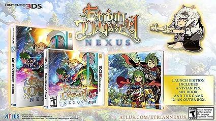 Amazon com: Etrian Odyssey Nexus - Nintendo 3DS: Sega of