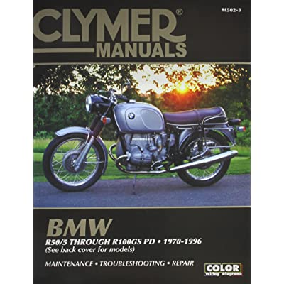 Clymer Repair Manual for BMW R-Series 70-96: Automotive