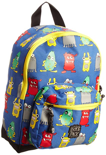 Pick & Packs Unisex Child - Mochila infantil, color azul