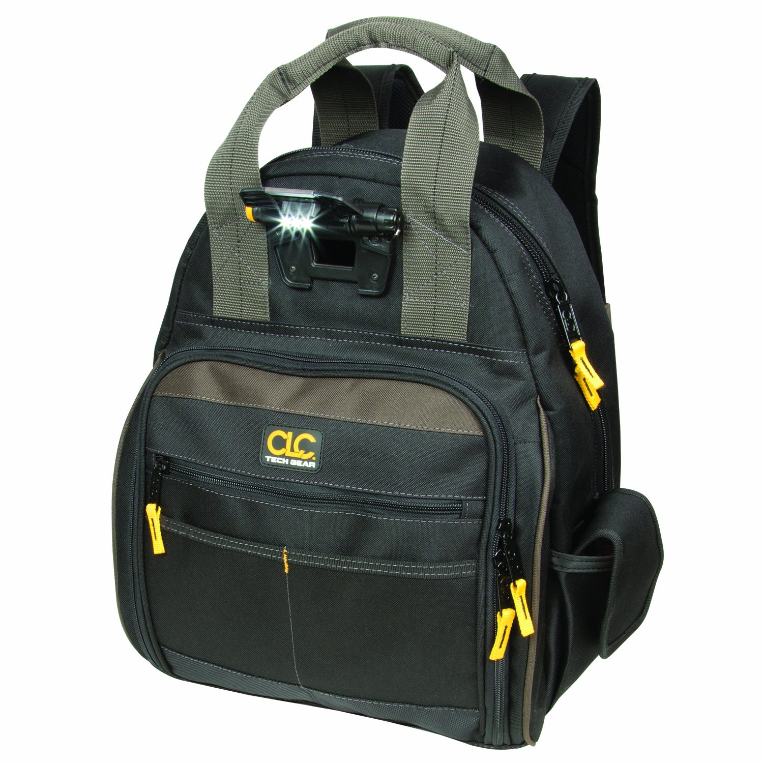 CLC Custom Leathercraft L255 Tech Gear 53 Pocket Lighted Back Pack by Custom Leathercraft