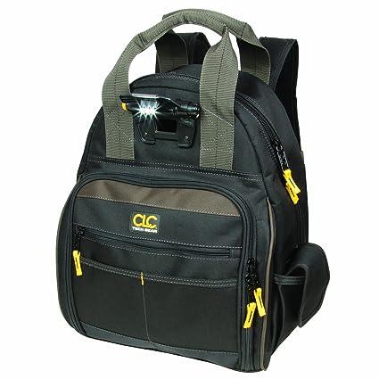 440dcfae8354 CLC Custom Leathercraft L255 Tech Gear 53 Pocket Lighted Back Pack - -  Amazon.com