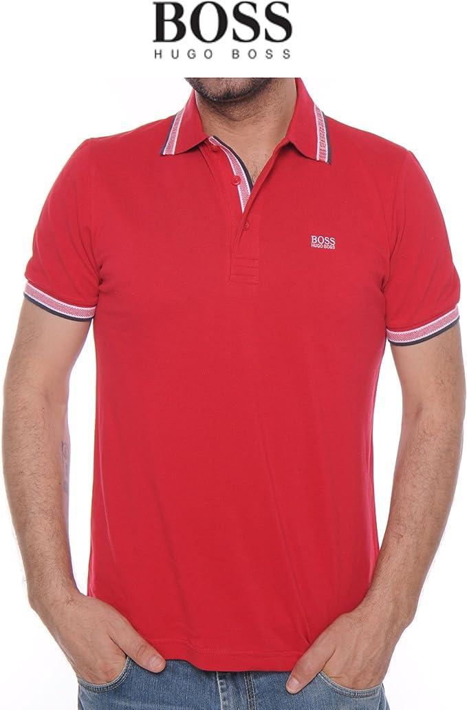 BOSS Polo para Hombre Hugo Copa Modern fit hu3510788 Rojo ...