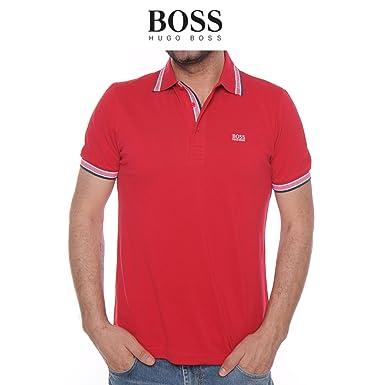 BOSS Polo para Hombre Hugo Copa Modern fit hu3510788 Rojo Rojo XL ...