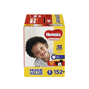 amazon com huggies snug dry diapers size 5 152 count huge pack