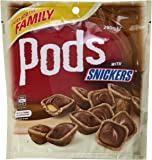 Mars Pods with Snickers Chocolates in Bag, 280 Grams x 8