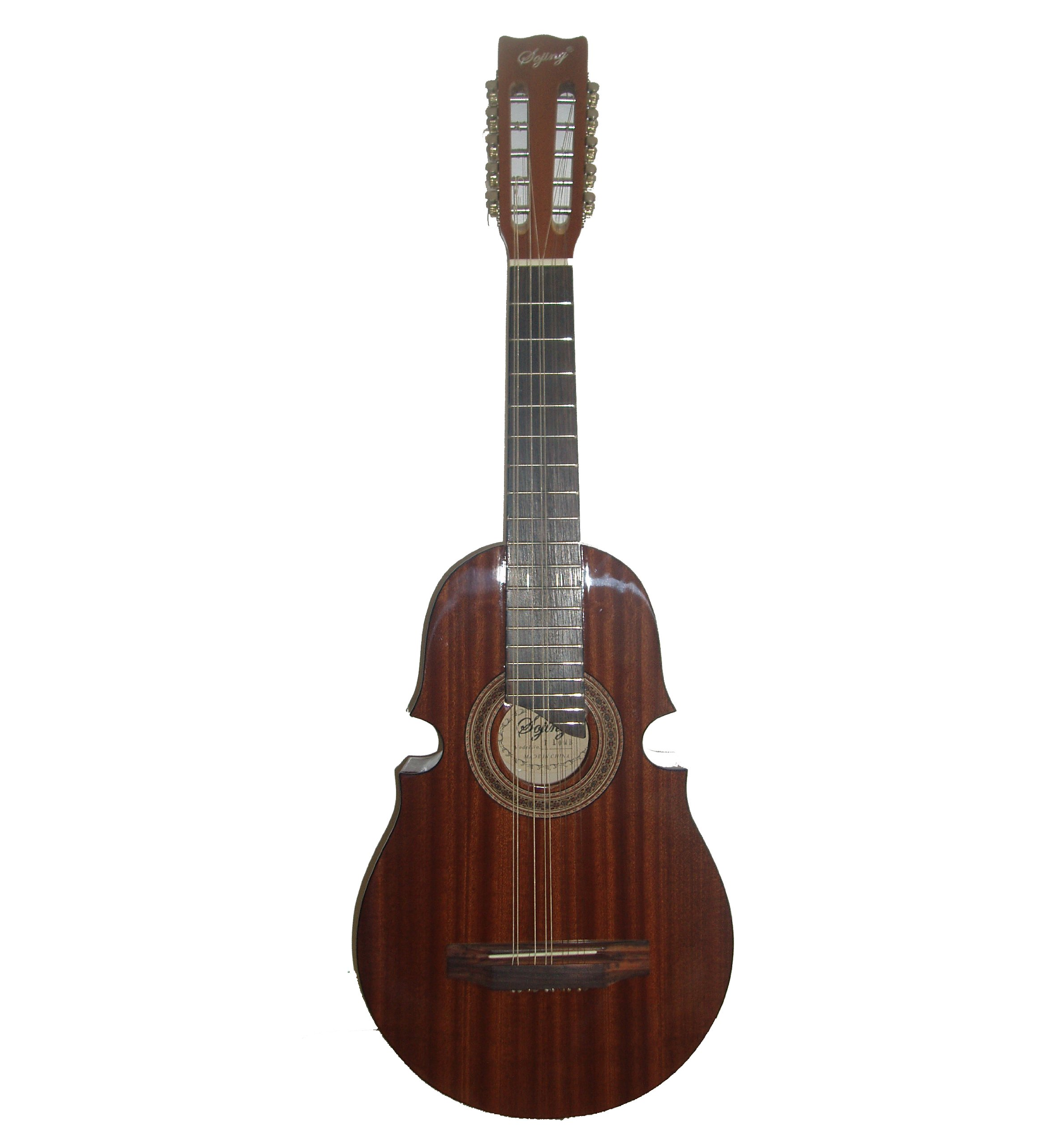 New 10 String Sapele Cuatro Guitar
