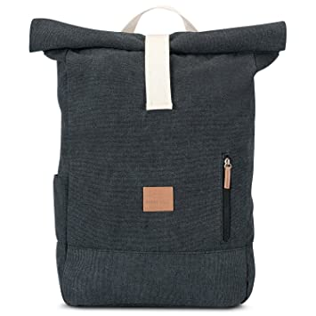 Amazon.com : Johnny Urban Roll Top Backpack from Cotton Canvas ...