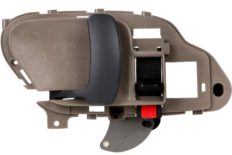 BOXI Beige Interior Front/Rear Left Door Handle Driver Side for 1995 1996 1997 1998 1999 2000 2001 2002 Chevrolet GMC C1500 C2500 C3500 K1500 K2500 K3500 Pickup Suburban Chevy Tahoe 15708051, 77570 ShangHai BOXI Auto Parts Co. Ltd.