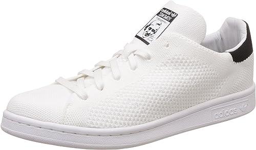 adidas Herren Stan Smith Prime Knit Sneaker, weiß
