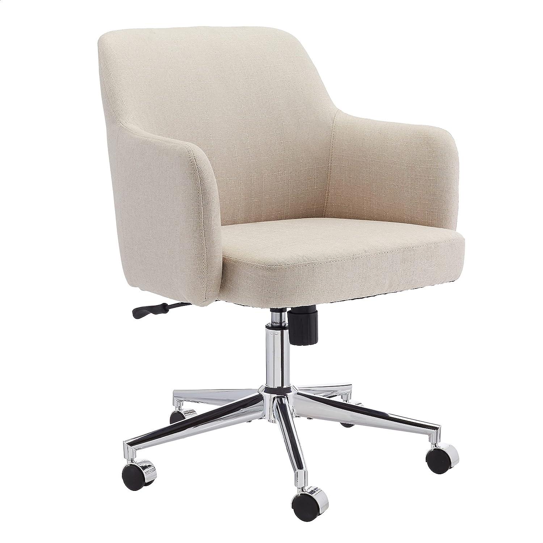 Amazon Basics Twill Fabric Adjustable Swivel Office Chair - Beige