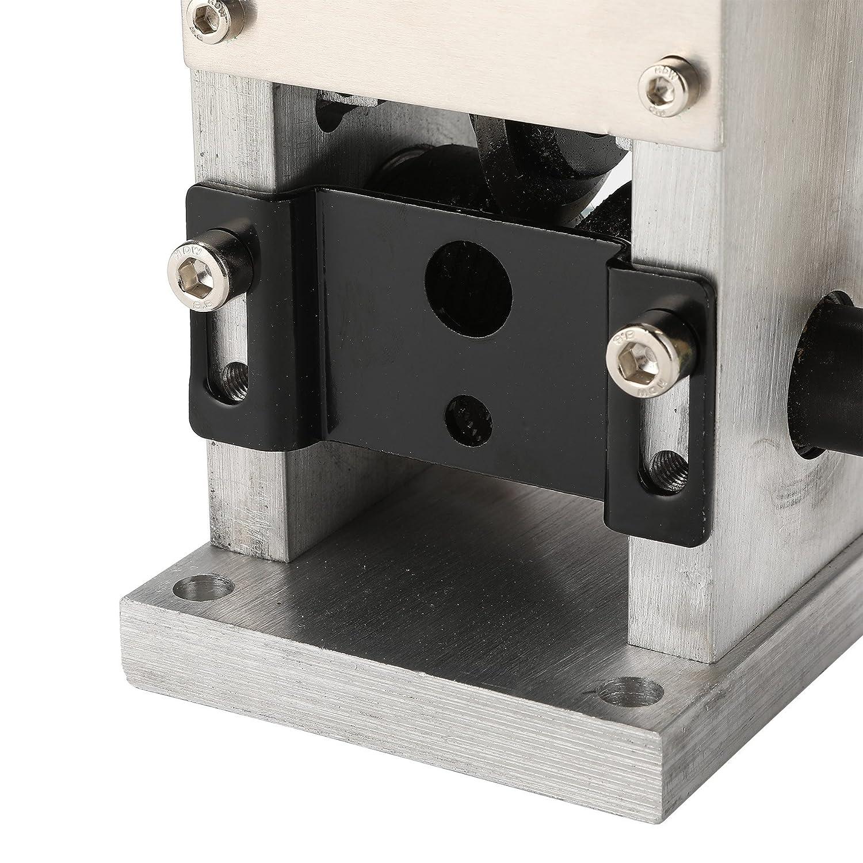 Z ZELUS M/áquina de Pelacable Manual 1.5 mm a 25 mm M/áquina Peladora de Cables de Cobre M/áquina Pelacable Port/átil con Mango Wire Stripping Machine para Reciclaje de Chatarra de Cobre