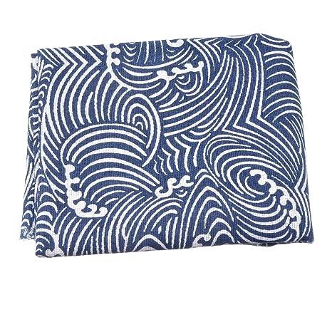 Souarts azul Spindrift patrón tela paquetes acolchar costura ...