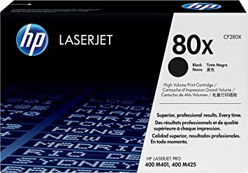 Black High Capacity Compatible Laser Toner Cartridge to replace HP80X HP-CF280X