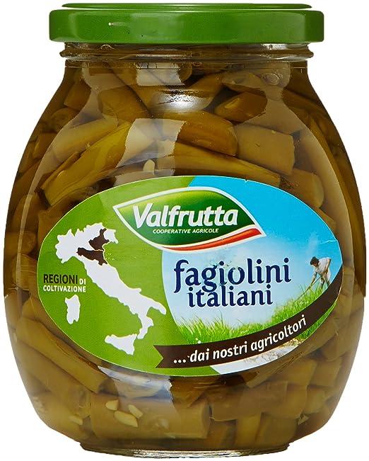 5 opinioni per Valfrutta Fagiolini Finiss.Vetro- 6 pezzi da 370 g [2220 g]