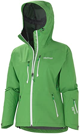 unparalleled meticulous dyeing processes durable service Women Marmot Alpinist Green Gore-Tex Waterproof Hooded Rain ...