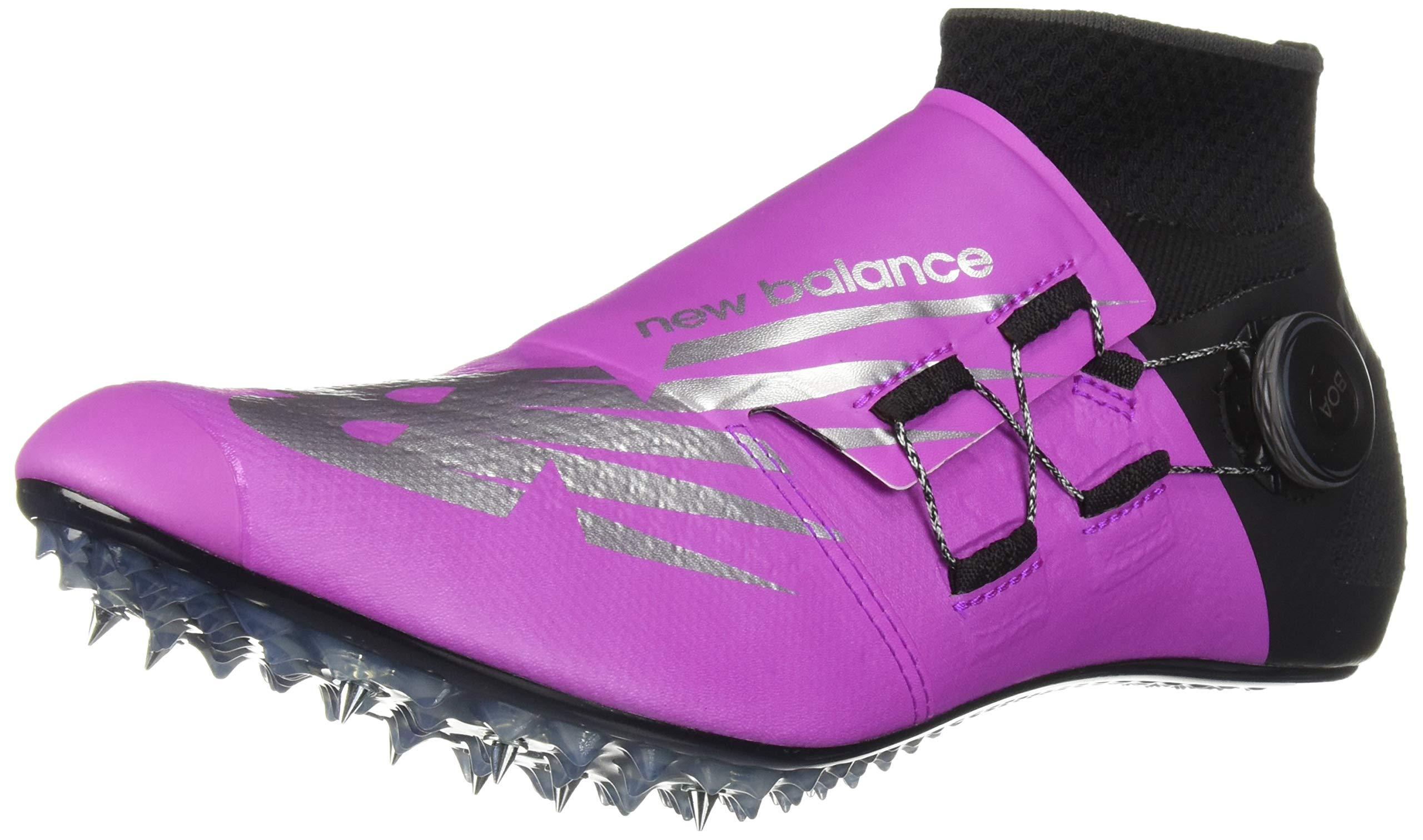 New Balance Men's Sigma Harmony Vazee Track Shoe Voltage Violet/Black 4 D US