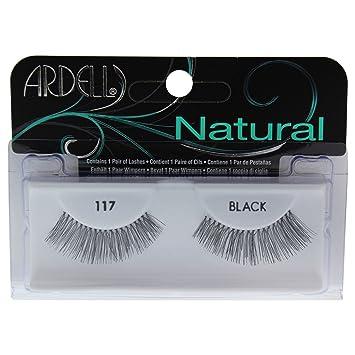 bf1470808c7 Amazon.com : Ardell Fashion 117 Black Lashes Pair : Fake Eyelashes And  Adhesives : Beauty