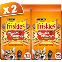 Purina Friskies Tender And Crunchy Combo Dry Cat Food 1.42kg (Pack of 2)