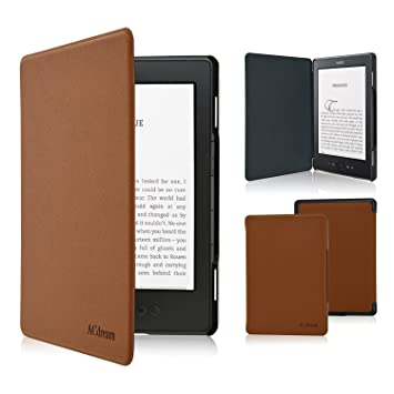Kindle Case - ACdream Amazon Kindle 5 & Kindle 4 Protective Case - Ultra  Slim PU Leather Cover Case for Amazon Kindle 4 / Kindle 5 With Magnet  Closure