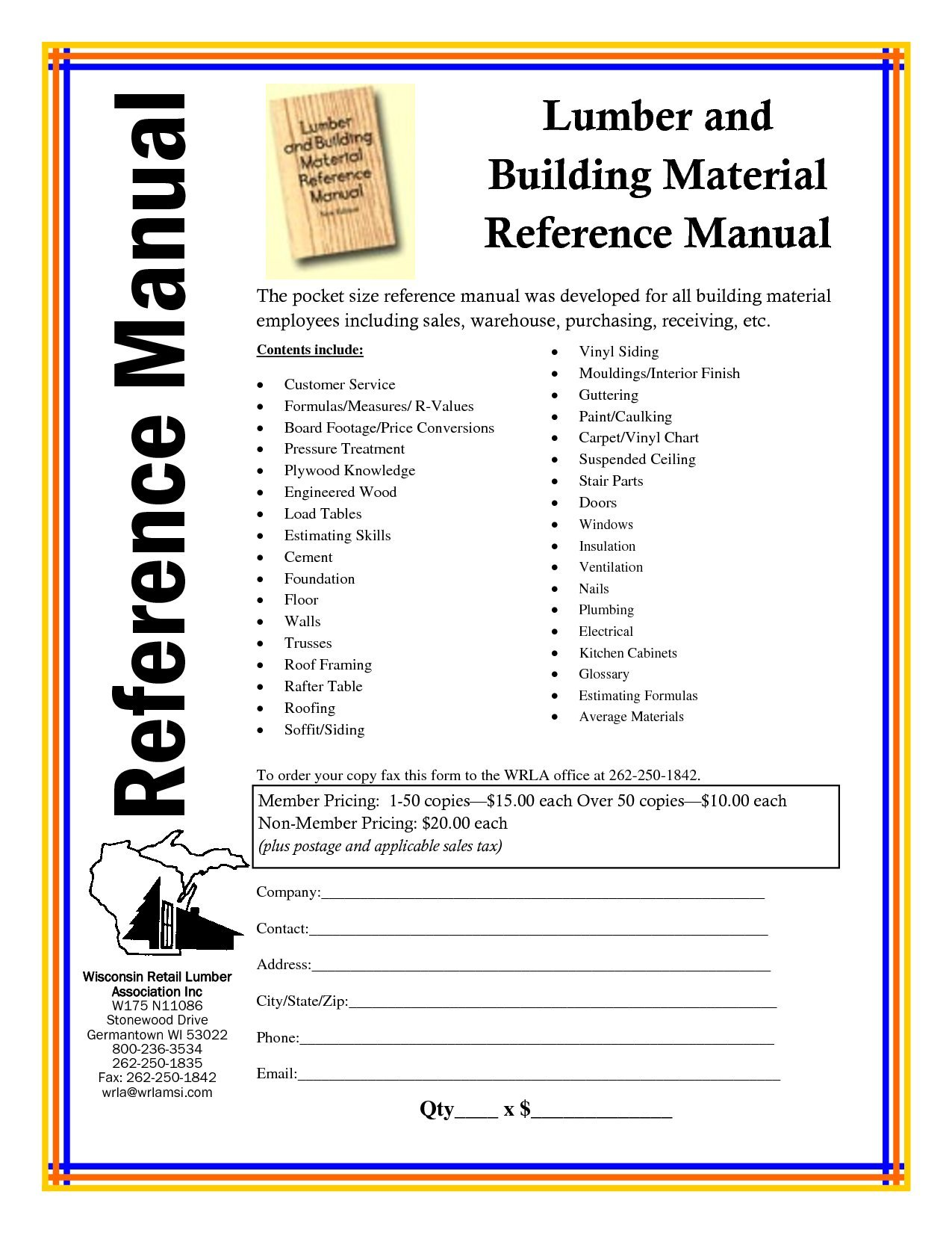 Lumber and building material reference manual: Guy A Fowler: Amazon.com:  Books