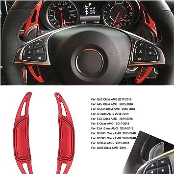Ffz Parts 5649 Schaltwippen Shift Paddels Passend Für Mercedes Benz Amg Gla45 C63 E63 S63 Cls Glc Gle Gls Sl Cla45 A45 Auto
