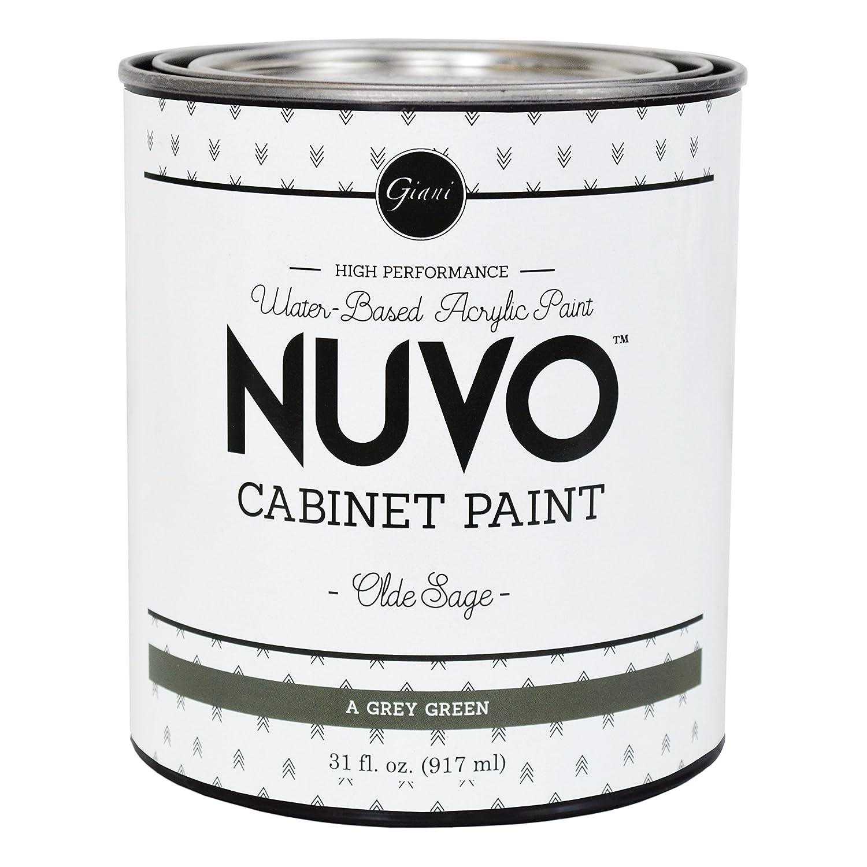 Nuvo Cabinet Paint Olde Sage Quart Giani Inc.