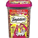 TEMPTATIONS Mix-Ups Cat Treats, (Chicken, Turkey & Beef Flavour), 454g Tub
