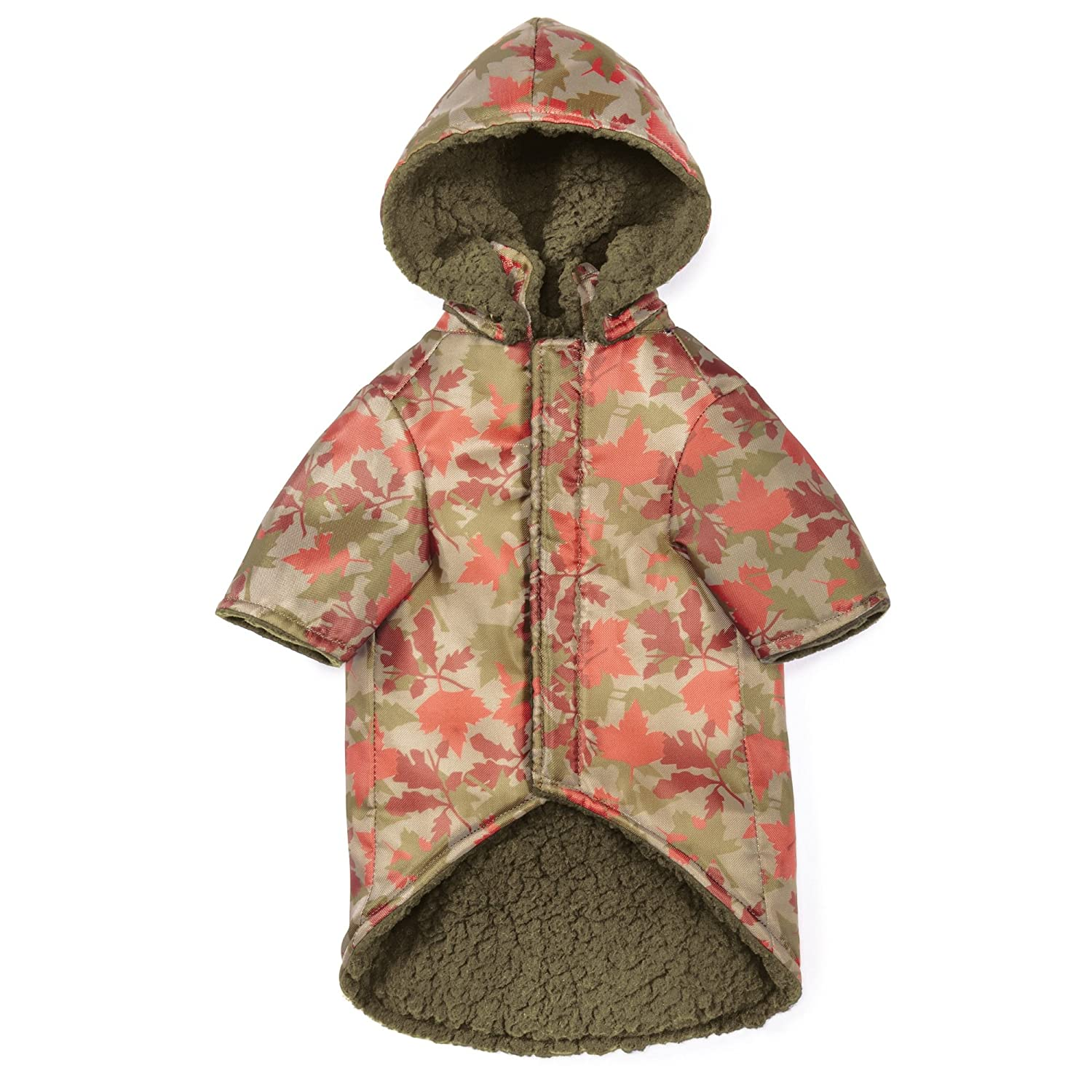 X-Small Zack & Zoey Elements Camouflage Thermal Coat for Dogs, X-Small