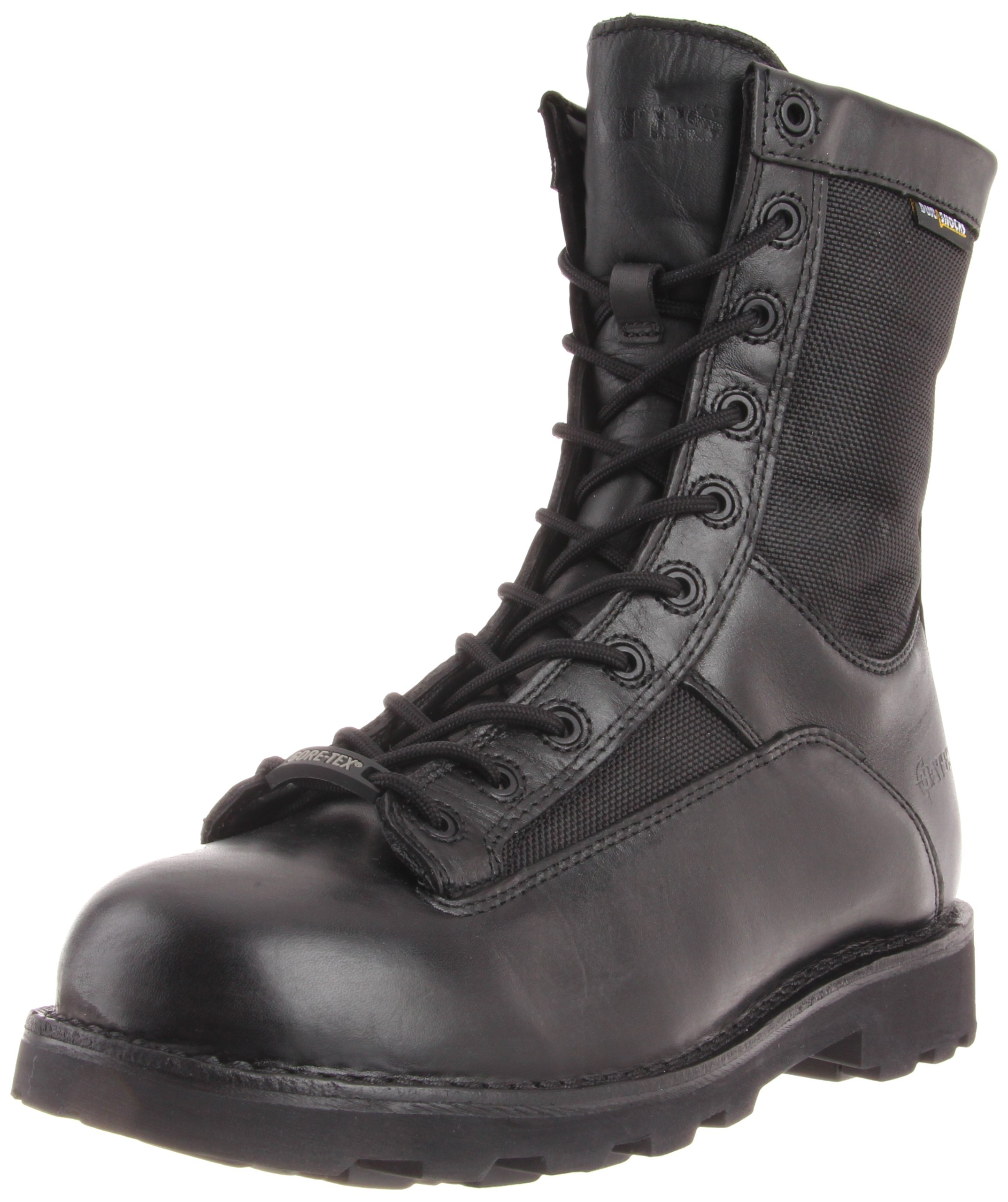Bates Men's 8 Inches Durashocks GTX Lace-to-Toe Work Boot,Black,8 EW US