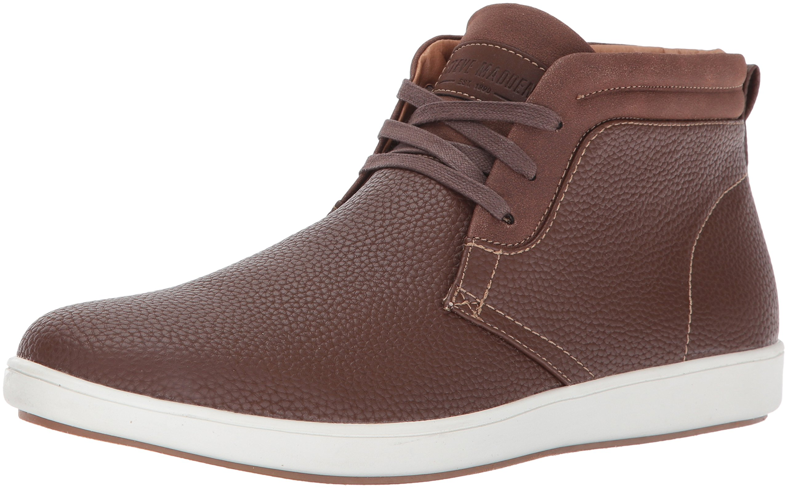 Steve Madden Men's Fenway Sneaker, Brown, 13 M US