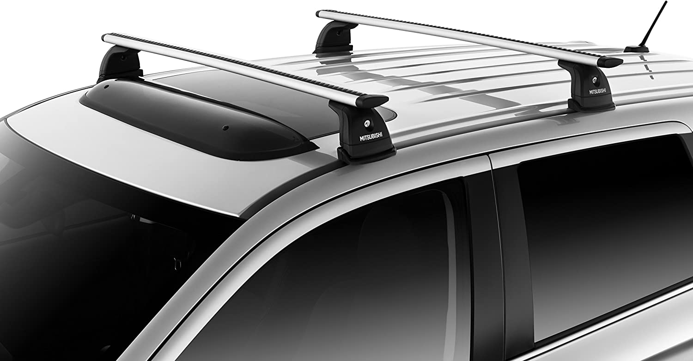 Black fit for Mitsubishi RVR//ASX//Outlander Sport roof rack cross bar crossbar
