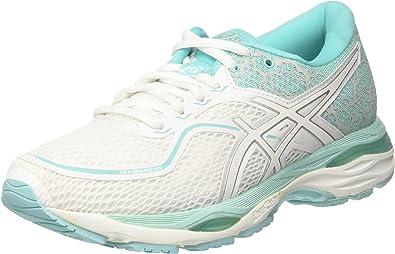 Asics Gel-Cumulus 19 Lite-Show, Zapatillas de Entrenamiento para Mujer, Multicolor (White/Silver/Aruba Blue 0193), 37.5 EU: Amazon.es: Zapatos y complementos