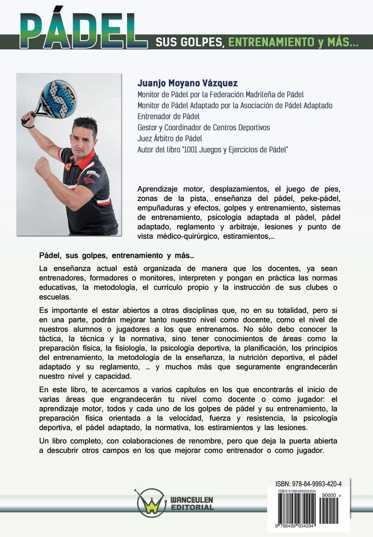 Pádel: sus golpes, entrenamiento y más... (Spanish Edition): Juan José Moyano Vázquez: 9788499934204: Amazon.com: Books