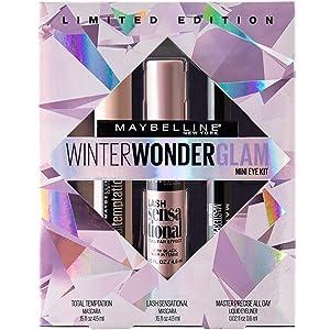 Maybelline Winter Wonderglam Mini Eye Kit, Holiday Mascara Kit