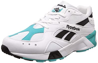 amazonka wybór premium różne kolory Reebok Aztrek, og-White-Solid Teal-Black, 12: Amazon.co.uk ...