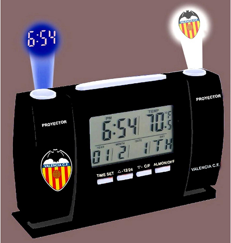 Oficial Valencia CF Proyector LCD Reloj (2602176): Amazon.es: Juguetes y juegos
